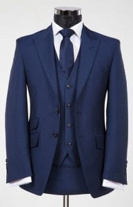 suit hire gold coast blue suit