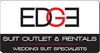 edge suit outlet logo